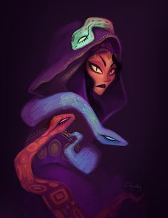 serpent lady for @sketch_dailies!!!!!