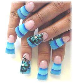 Acrylic Nail Art Designs 18