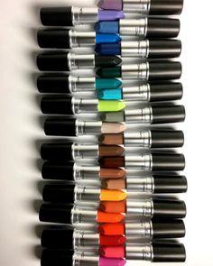 MAC lança coleção de batons Colour Rocker