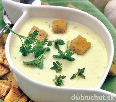 Smotanová cesnačka Czech Recipes, Russian Recipes, Ethnic Recipes, Top Recipes, Food 52, Palak Paneer, Cheeseburger Chowder, Hummus, Thai Red Curry