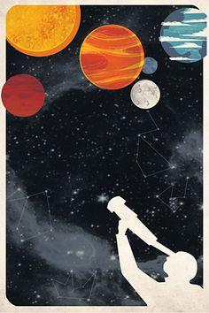 Space wallpaper by Kerry Hyndman