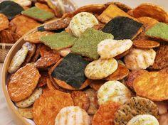 Senbei Japanese savory rice crackers おせんべいをリメイク☆|uniQtas(ユニクタス)