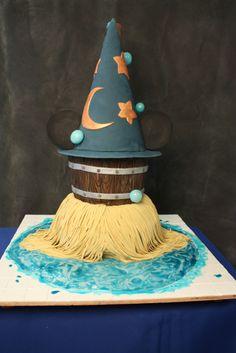 Mickey Mouse cake! Fantasia!