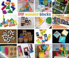 Wooden Block Puzzle, Wooden Blocks, Craft Stick Crafts, Diy And Crafts, Crafts For Kids, Wooden Crafts, Wooden Diy, Wooden Shapes, 3d Shapes