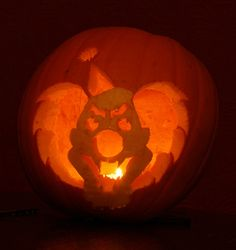 80 carved pumpkins that bring the scary. Scary Halloween Pumpkins, Carved Pumpkins, Pumpkin Carving, Pumpkin Carvings