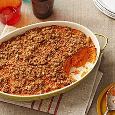 Orange-Spiced Sweet Potato Casserole