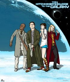 Hitchhiker's Guide to the Galaxy by: Alessia Pelonzi