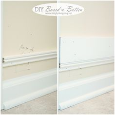 DIY Board and Batten (without replacing your baseboards!)