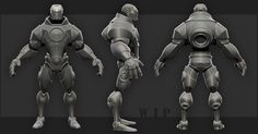 [FIGHTER] Marvel vs Capcom - IRONMAN - Duncan - Page 2 - Polycount Forum