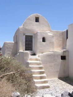 Paros Island, Santorini Island, Mediterranean Architecture, Mediterranean Sea, Vernacular Architecture, Architecture Design, Mud Hut, Paros Greece, Adobe House