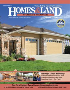 View the latest issue online of Homes & Land of Greeley & Weld County #homesandlandmagazine #realestate #homesforsale