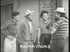 LOS PANCHOS (Julito) y TIN TAN (Germán Valdés) - PREGONES MAÑANEROS-1954