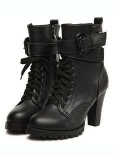 High Quality ankle boots in fashion trends for discount over sale on Shoespie. Including high heel ankle boots clearance and snow ankle boots sales, shop now! Page 4 48 Items Black Chunky Heels, Chunky Heel Ankle Boots, Leather High Heel Boots, Black High Heels, Black Boots, Heeled Boots, Shoe Boots, High Boots, Ankle Booties