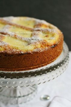 The recipe for happiness: mascarpone tart with chocolate chips . and a special pastry! Italian Cake, Italian Desserts, Just Desserts, Delicious Desserts, Yummy Food, Sweet Recipes, Cake Recipes, Dessert Recipes, Dinner Recipes