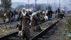 Refugees stranded in Austria desperate to reach Germany