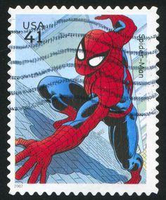 #Spiderman stamp