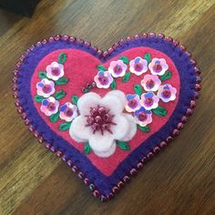 A personal favorite from my Etsy shop https://www.etsy.com/listing/580129730/lynn-felt-brooch-heart-shaped-purple-and
