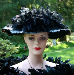 For $249 you, too, can own a Titanic Edwardian style hat!