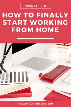 Are you stuck in research mode when it comes to working from home? Here are five of my best tips to start taking action to finally work from home. Work From Home Moms, Make Money From Home, Way To Make Money, Job Info, One Small Step, Job Work, Take Action, In Writing, Working Moms