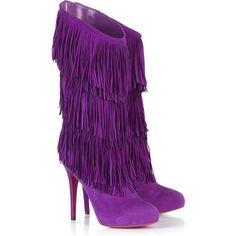 Christian Louboutin Forever Tina 140mm Purple