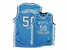 0c0ccb6ed7afe1 NBA North Carolina  50 Tyler Hansbrough College Blue Jersey