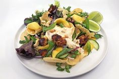 Indian-spiced chicken and mango salad