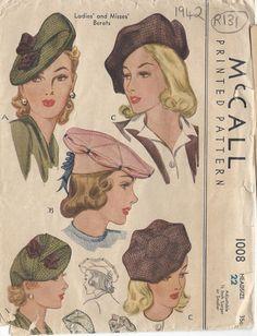 1942 Vintage Sewing