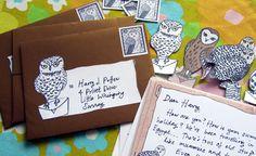 Owl post printable