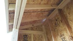 Lean To Shed (3x8') - Imgur Man Cave Shed Plans, Wood Shed Plans, Diy Shed Plans, Diy Wooden Projects, Wooden Diy, Door Header, Small Shed Plans, Shed Interior, Lean To Shed