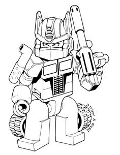 Transformers Was Shot Very Good Coloring Page