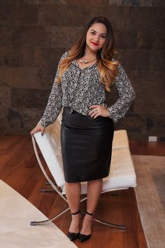 Leopard Chic: New Post up on the blog today at www.alicemarieh.com  #leopard #leather #heels #anntaylor #loft #fallfashion