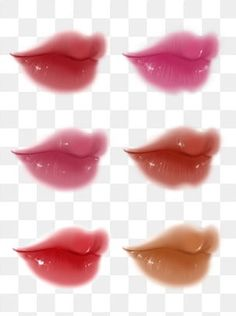 Mouth Cartoon, Lip Background, Face Doodles, Lips Painting, Digital Art Beginner, Pink Blood, Graphic Design Lessons, Red Lip Makeup, Drawing Anime Clothes