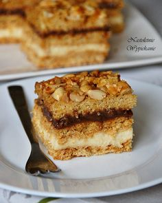 Ciasto Snickers - Justyna Dragan French Toast, Food And Drink, Pie, Breakfast, Cakes, Torte, Morning Coffee, Cake, Fruit Cakes