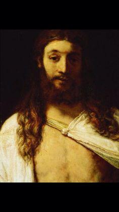 """""""Ecce homo"""" de Rembrandt, afortunadamente este no esta restaurado del rostro."""