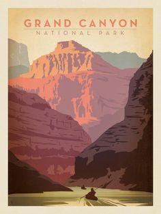 Anderson Design Group – American National Parks – Grand Canyon National Park: Kayak