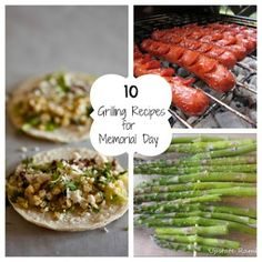 10 Grilling Recipes for Memorial Day | Fun Home Things