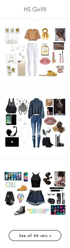 HS Girl!!! by idkwigd on Polyvore featuring polyvore The Fifth Label Salvatore Ferragamo Brother Vellies Barbour Givenchy MAC Cosmetics Too Faced Cosmetics Speck AK Anne Klein fashion style clothing Nika WithChic Witchery Monsoon Rodial Burberry NYX Yves Saint Laurent Dr. Martens River Island WearAll The North Face Hollister Co. Retrò Rebecca Minkoff Alex and Ani Jewelonfire Casetify Ray-Ban La Mer Illamasqua Stila Monki Twin-Set Converse Spitfire Unique fashionset Glamorous Revé Fendi…