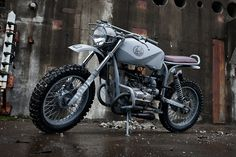 The Quartermaster is a result of collaboration between custom motorcycle studio and Russian motorcycle company URAL. The custom motorcycle is based on the Ural Solo sT and inspired by rugged Soviet Navy ships. Bmw 520, Ural Motorcycle, Motorcycle Style, Ural Bike, Motorcycle Paint, Women Motorcycle, Motorcycle Design, Motorcycle Helmets, Can Am
