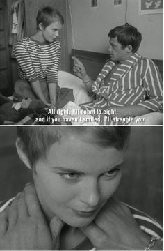 New Wave Cinema, 1960s Movies, High School Love, Shot Film, Hollywood Scenes, French New Wave, Jean Seberg, French Movies, Jean Luc Godard