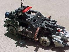 Dreadnok Zombie Meat Grinder Custom - GI Joe News Gi Joe Vehicles, Halo Armor, Eddie Guerrero, Demolition Derby, Survival, Custom Hot Wheels, Gi Joe Cobra, Hasbro Transformers, Futuristic Cars