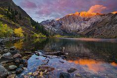 Autumn Sunrise at Convict Lake | Matt Granz Photography