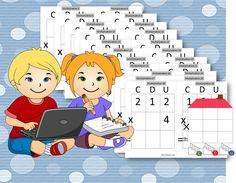 La valise de picbille mat riel fabriquer for Apprendre ses tables de multiplication en jouant