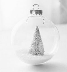 Winter in a bauble    #christmas #holidays #ornaments
