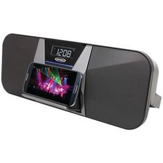 JENSEN JBD-400 Portable Bluetooth(R) Speaker/FM Receiver