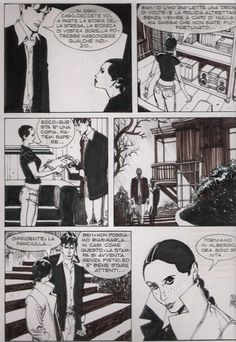Dylan Dog n° 194 pag 18 - Mari Comic Art