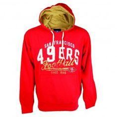 San Francisco 49ers NFL Field Goal Hooded Sweatshirt (Red)