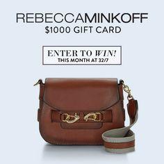 http://swee.ps/gIzvEkBJ                        Win a $1000 Rebecca Minkoff Gift Card!