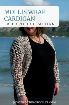 6cff6558a80f9 The 50 best Crochet sweater woman images on Pinterest in 2018 ...