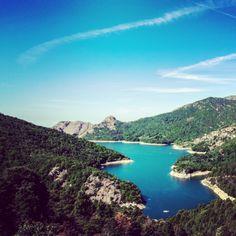 Corsica. Lac de Tolla.