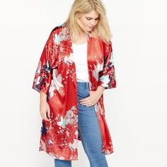 Chaqueta kimono con estampado de flores | Qué es un Personal Shopper